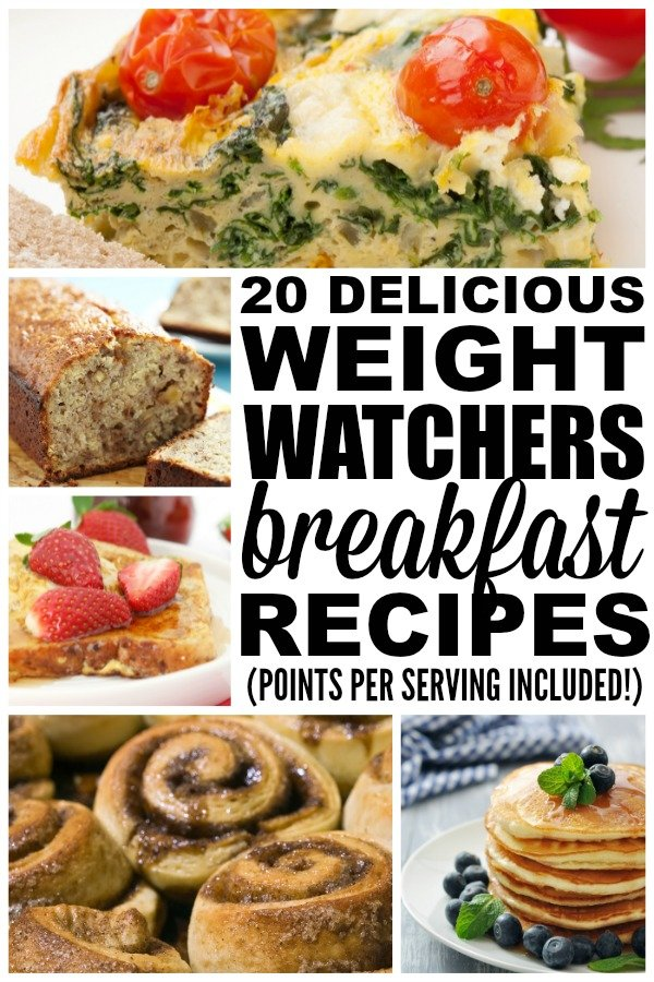 Whether you prefer traditional breakfast fare (eggs, casseroles, and sandwiches), enjoy something sweeter (oatmeal, muffins, and bars), or like to fuel your day in liquid form while on the go (smoothies!), this collection of weight watchers breakfast recipes with points is for you! These recipes are easy and delicious, and for those who are seriously strapped for time, we've included a few make ahead grab-and-go options!