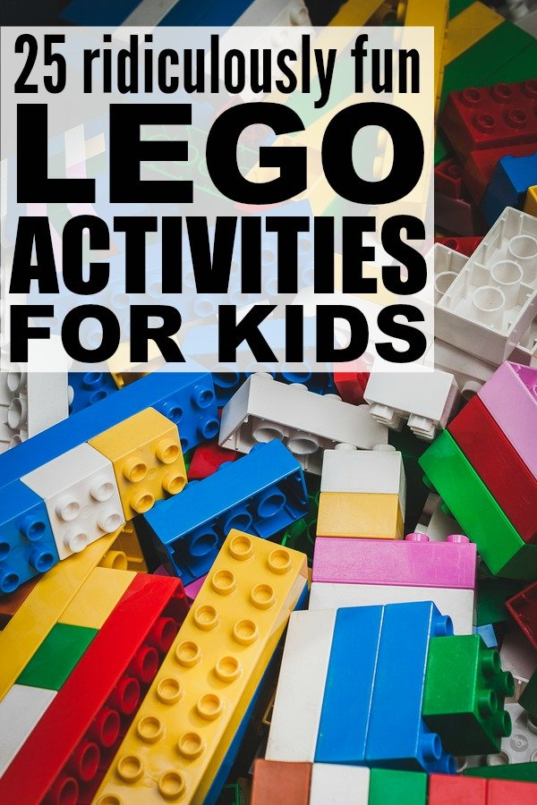 When it comes to LEGO and learning, the possibilities really are endless. We've rounded up 25 of our favorite LEGO activities for kids which are perfect for preschool, kindergarten, or learning at home, and with so many different ideas to choose from - alphabet learning cards, counting and measuring challenges, science scavenger hunt - these offer an excellent spin on education. We've included a couple of STEM activities as well as birthday party games for endless fun. Enjoy!