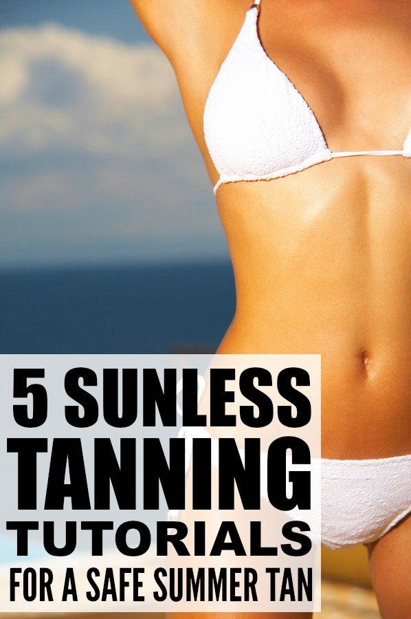 If you want a natural, smooth-looking tan this summer, but don't want to subject your skin to the sun's harmful UV rays, this collection of sunless tanning tutorials is for you! They are filled with tips on how to apply sunless tanner properly as well as the best products on the market, and tutorial 5 has a great trick for ensuring your sunless tan doesn't turn orange.