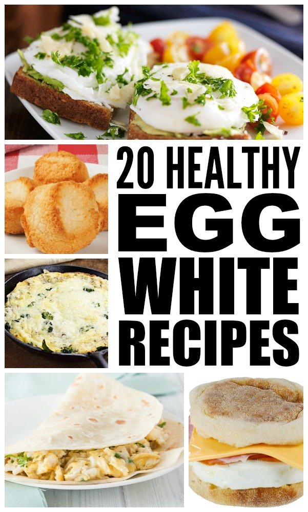 On a low carb diet? Trying to incorporate more lean protein into your diet to help you lose weight and build muscle? Need healthy breakfast ideas that will actually make you feel full? We've got you covered. From Two Ingredient Coconut Macaroons and Egg White Muffins to (Healthier) Pumpkin French Toast and Quinoa Omelette Bites, we've got 20 simple and delicious egg white recipes that will leave you begging for seconds. And probably thirds.