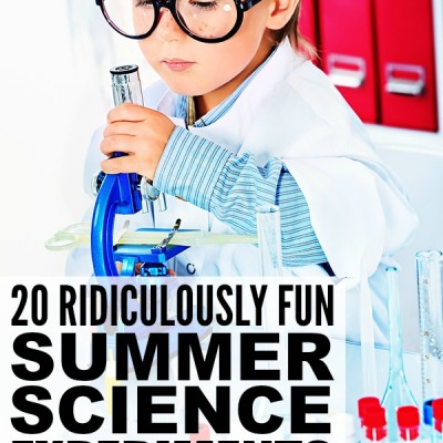 20 ridiculously fun summer science experiments for kids