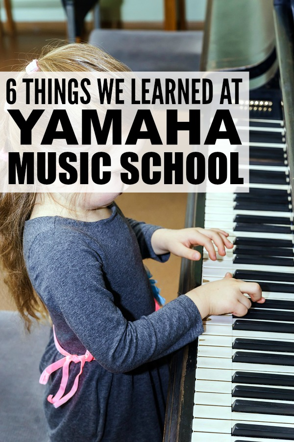 If you're thinking of enrolling your kids in music lessons this fall, I highly recommend Yamaha Music School. They've taught us so much! #YamahaKids