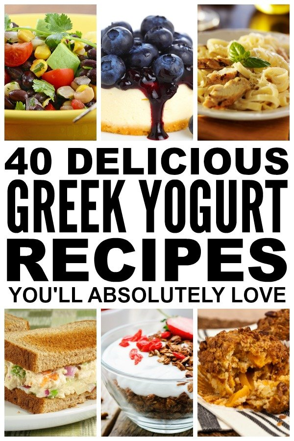 If you're on the hunt for breakfast recipes to kick start your day, looking for inspiration for packing healthy lunches for school or work, [desperately] seeking dinner ideas the whole family will love, and/or in need of awesome dessert recipes that will wow your mother-in-law, check out this FABULOUS collection of Greek yogurt recipes! I'm especially excited about the [lighter] blueberry cheesecake recipe because...cheesecake.