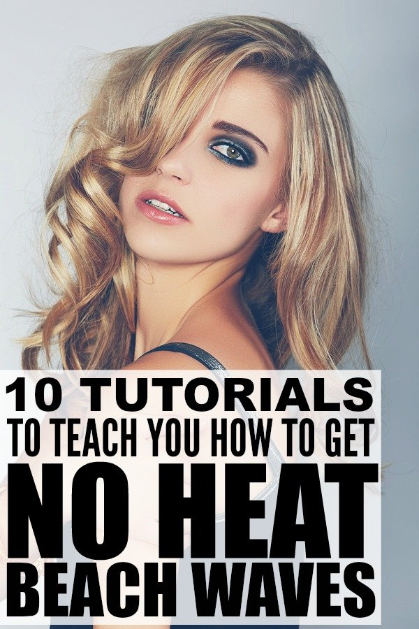 How To Get Perfect Beach Waves WITHOUT Heat