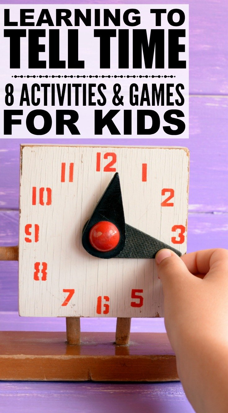 If you're looking for games and activities that will help break down the concepts of learning to tell time in a fun way for your kids, you've come to the right place. From worksheets and paper plate activities to games and toys you can purchase online to help teach your little one about the hours and minutes on a clock, this post has all kinds of ideas to make numbers FUN again!