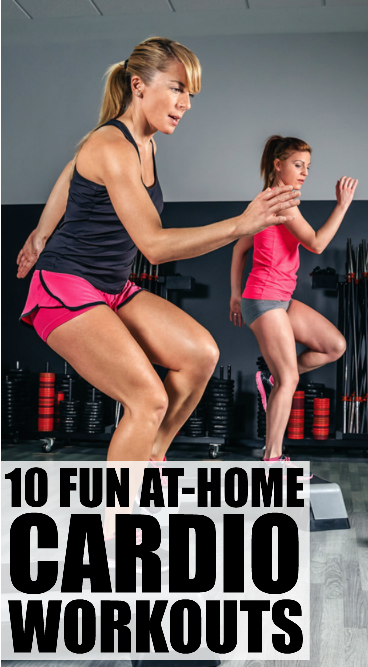 Looking for fat-burning cardio workout videos to add to your weekly exercise routine? We've got you covered. We've found 10 free Denise Austin workouts you can do on the daily either at the gym or at home. Whether you're a beginner to fitness, or can't face another hour running on the treadmill or sweating it out on the elliptical, these dance videos are your ticket to getting back into shape while still having fun!