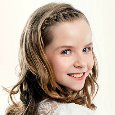 10 quick & adorable back-to-school long hairstyles for little girls