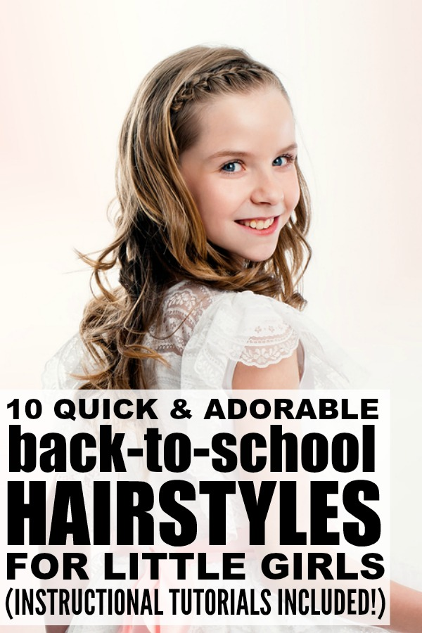 Swell Back To School Long Hairstyles For Little Girls Hairstyle Inspiration Daily Dogsangcom