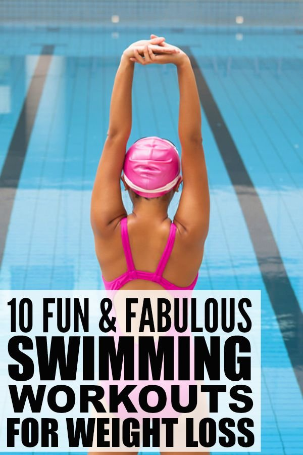 10 swimming workouts to lose weight