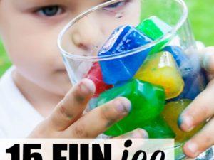 15 ice activities for preschoolers