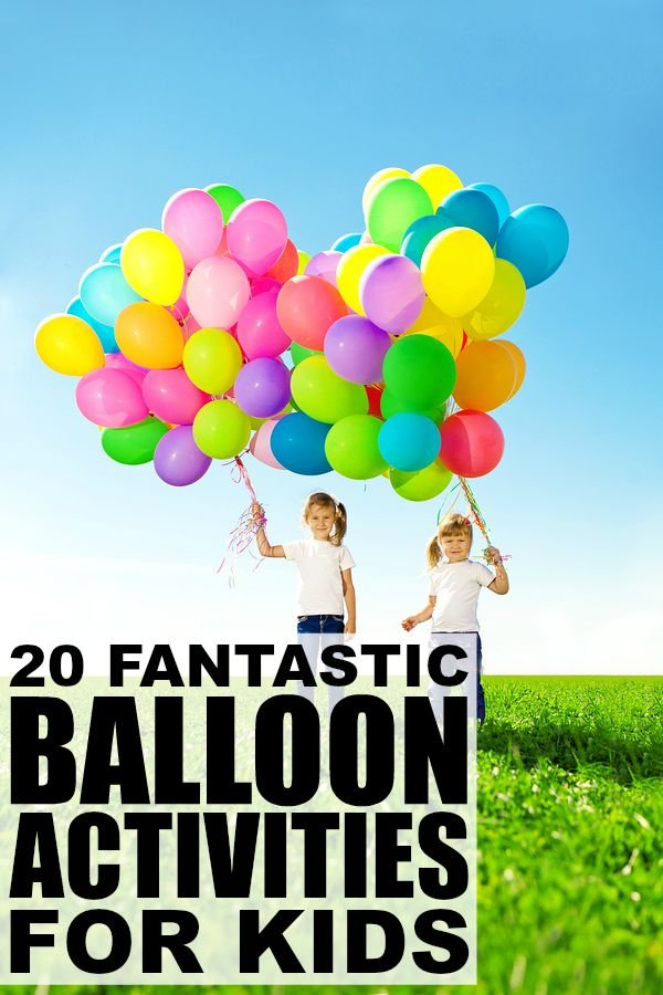 20 balloon activities for kids