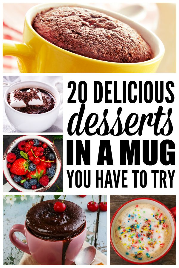 If you're unable to keep sweet things in the house for fear of eating an entire batch of brownies or chocolate chip cookies in one sitting (like I'm prone to do), this collection of desserts in a mug is a great alternative. These dessert recipes are simple to make, and are the perfect solution when you only want to make ONE serving so you don't derail all of your weight loss efforts. I am particularly in love with number 3, because pumpkin pie...