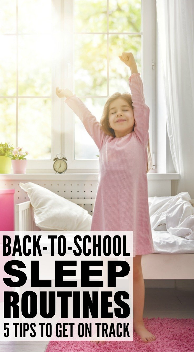 Back-to-school can be a stressful time, especially when sleep schedules are out of whack and your kids are tired and cranky. The good news is that a little planning and preparation goes a long way, and these simple sleep tips and tricks will help you get your children into their beds ON TIME for a good night of sleep every single night.