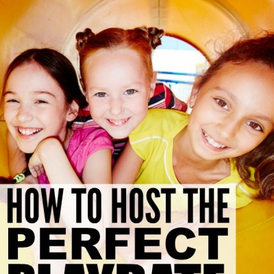 How to host the perfect play date (5 great tips!)