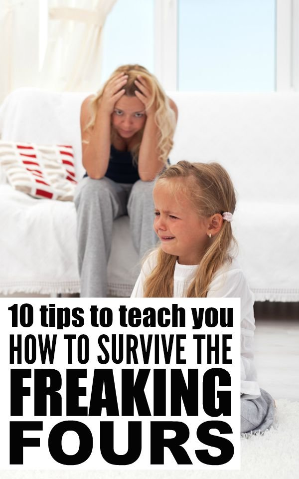 While I found the Terrible Twos and Trying Threes difficult, the 2 combined have NOTHING on the Freaking Fours. The good news is that full day kindergarten has given me time to reflect, and thanks to this collection of simple but effective tips for surviving the freaking fours, things have settled down. For now.