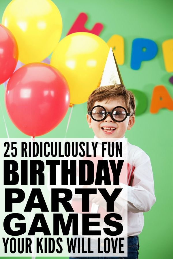 ... birthday party games for kids has lots of indoor and outdoor games to