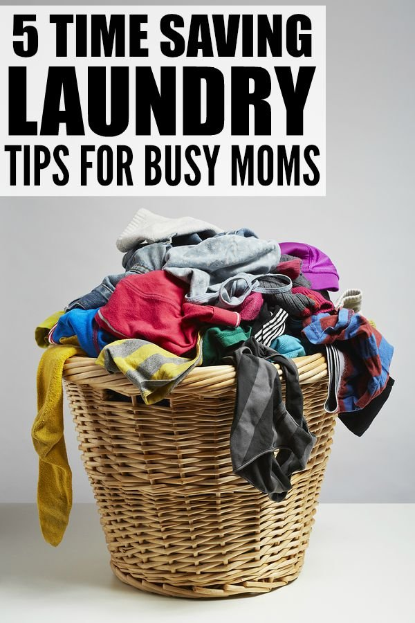 One of the most shocking parts of motherhood, in my opinion anyway, is how much laundry it entails. I feel like every time I finish one load of laundry, there are 3 more waiting for me, but thanks to these simple and effective time saving laundry tips for busy moms, I feel like things are a bit more manageable. I'm especially grateful for trick number 5 - I'm not sure how I ever survived without it!
