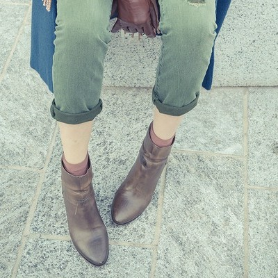 4 tips to teach you how to wear ankle boots