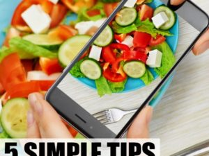 5 tips to teach you how to take better food photos for Instagram