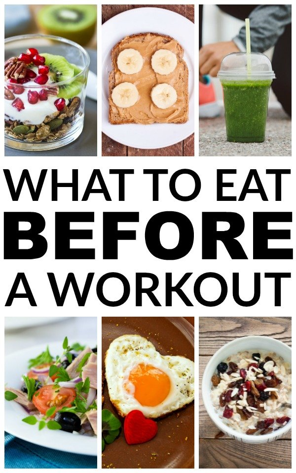 Foods To Eat For Energy Before A Workout