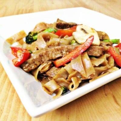 Asian Steak Noodle Bowl