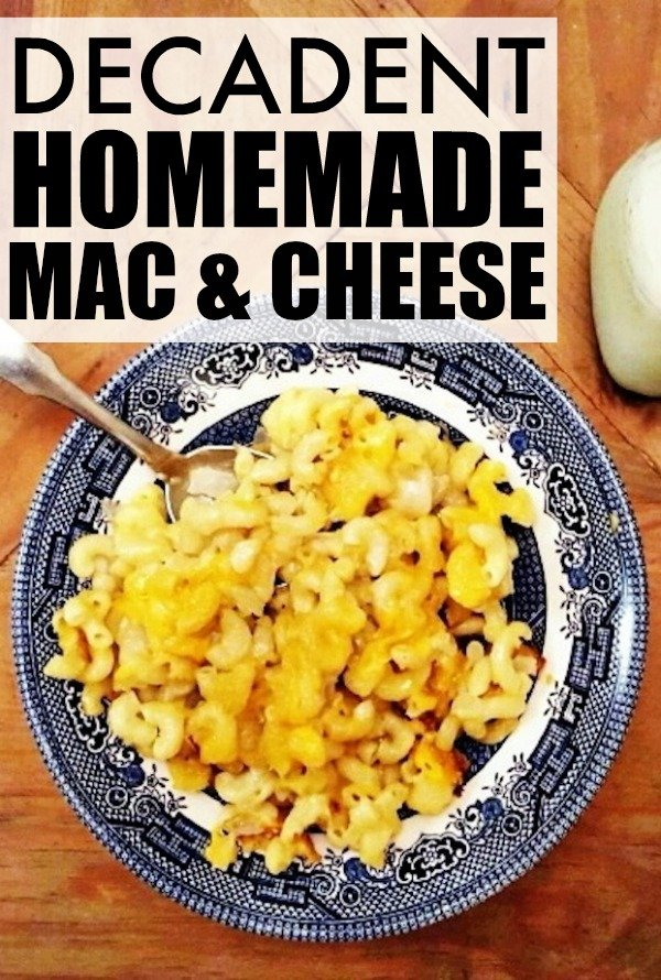 Homemade mac and cheese is one of my greatest guilty pleasures. This ...