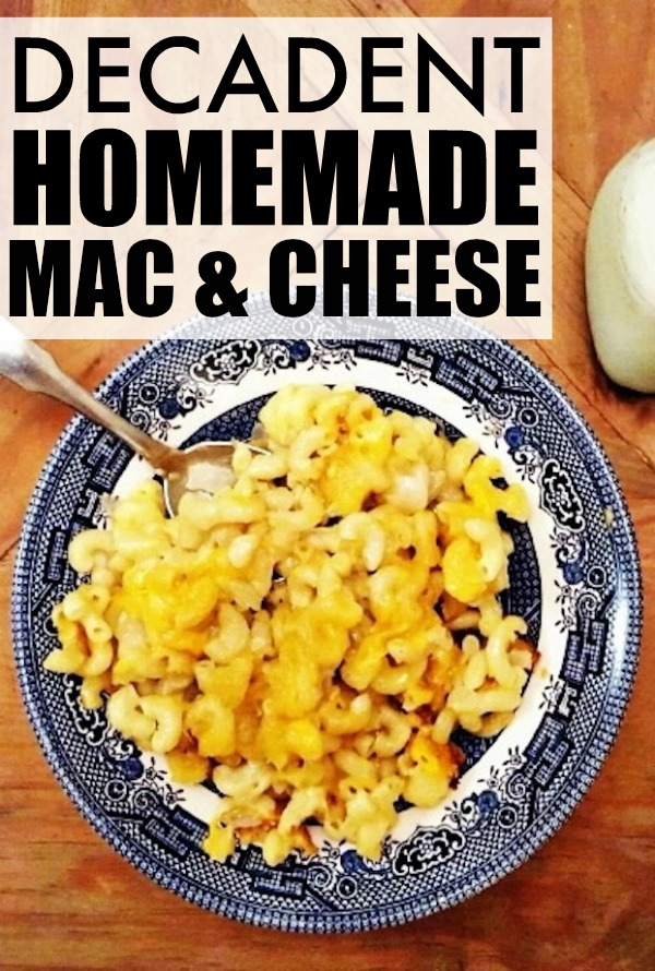 Homemade mac and cheese is one of my greatest guilty pleasures. This is one of my mom's most delicious recipes, which I had to steal from her to share with all of you! With perfectly cooked pasta enrobed in rich, creamy cheese sauce, this macaroni and cheese recipe is bound to be one you whip up over and over again.
