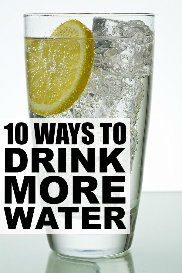 Although water is a key part of a healthy lifestyle, many of us struggle with drinking eight 8-ounce glasses of H2O each day. Fortunately, there are heaps of creative ways to drink more water that will keep you hydrated and healthy. Here are 10 of our favorites!