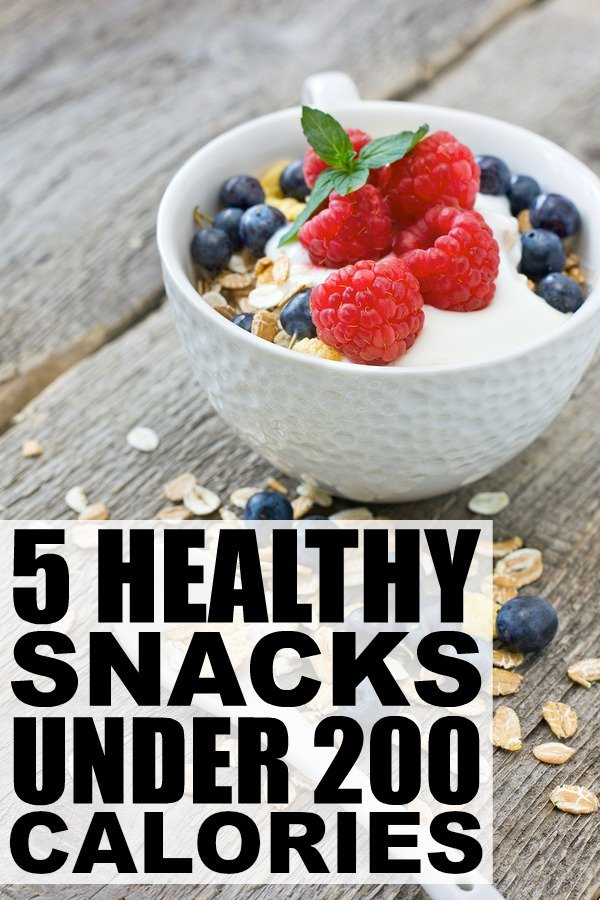 If you can't fathom making it from dinner to breakfast without noshing on something delicious, but don't want to sabotage your weight loss efforts, you'll love this collection of healthy snacks under 200 calories. I particularly love snack number 5. Because chocolate...
