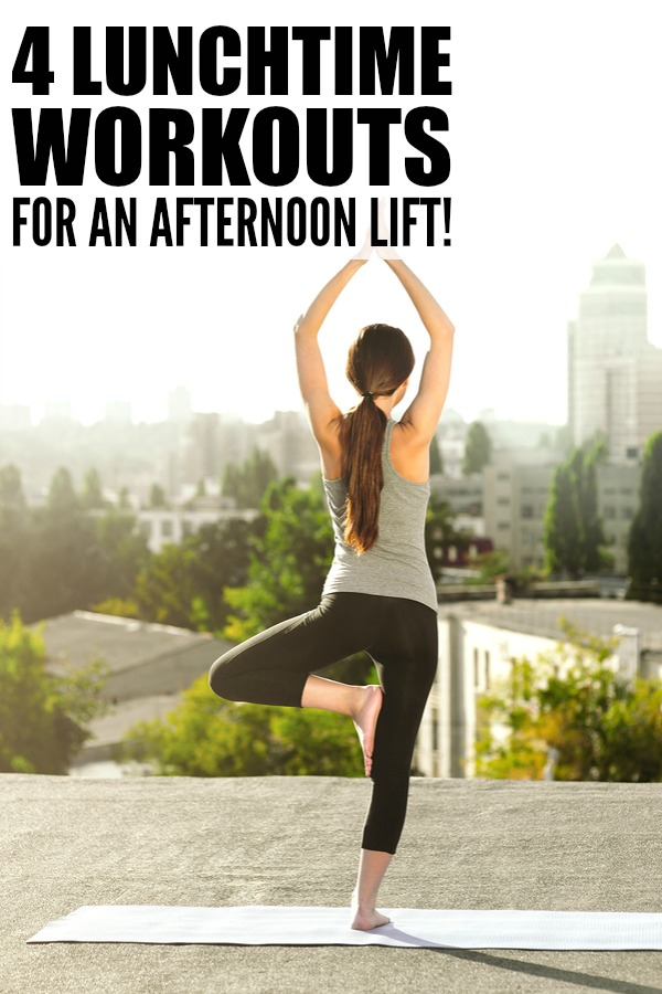 There are plenty of benefits that come with working out on your lunch hour - stress reduction, improved problem solving skills, and a boost in motivation and creativity - so if you're struggling to find the time to make your weight loss goals a reality, try these 4 workouts for a lunchtime lift!