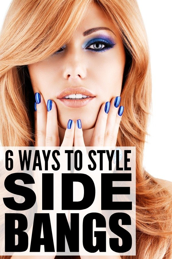 Ways Style Side Bangs