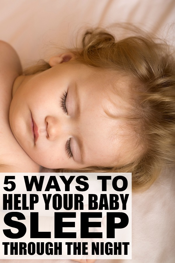 Baby sleep is a hot topic among new parents, and teaching your baby to sleep through the night is a skill few people have, especially when sleep regressions hit. The good news is that we've got 5 great sleep training tips to help you and yours find your way back to a good night of sleep.