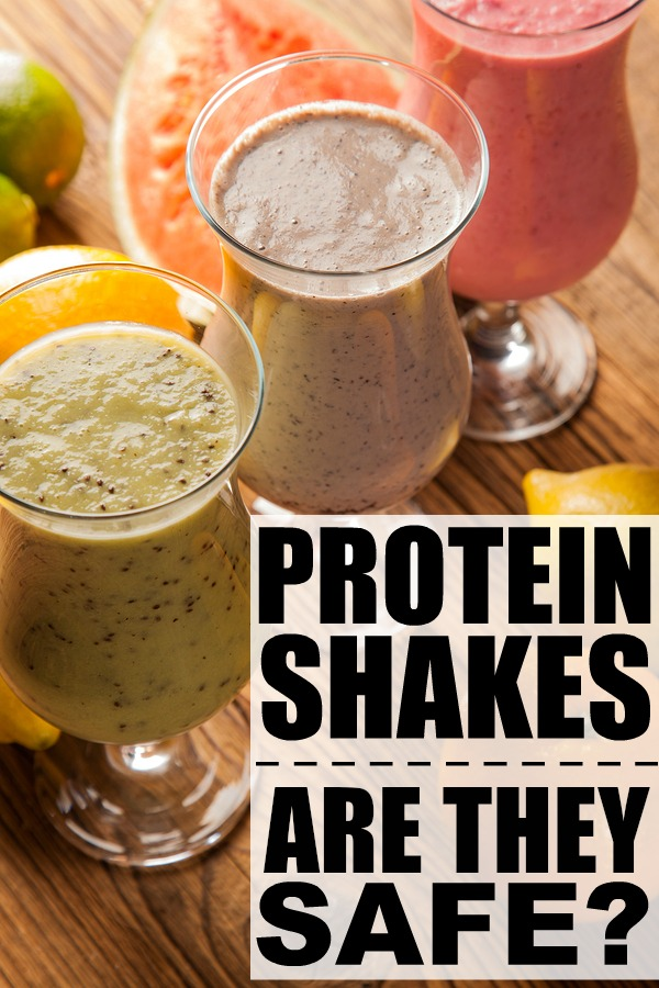Protein shakes are made with protein powder; supplements that we can put into our blenders and mix with our favourite fruits. They're said to enhance athletic performance, provide our bodies with more energy and help with weight loss. But are they safe?