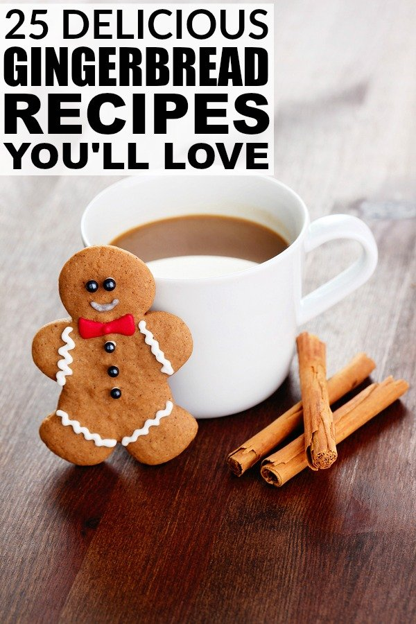 From Christmas cookies and Christmas desserts to lattes and smoothies, this collection of gingerbread recipes is the molasses- and ginger-lover's dream come true!