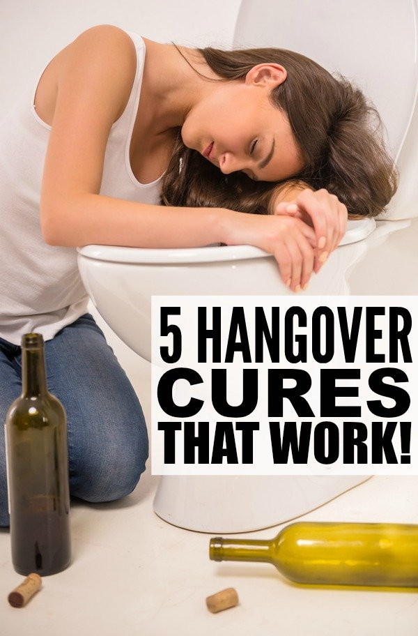 If anything gets better with time, it's definitely not our ability to handle hangovers. Right? The good news is that there are things you can do before, while, and after drinking so that the morning after is a little more tolerable. Check out 5 of our best hangover cures so you can enjoy your favorite alcoholic drinks with friends without feeling like garbage the following morning!