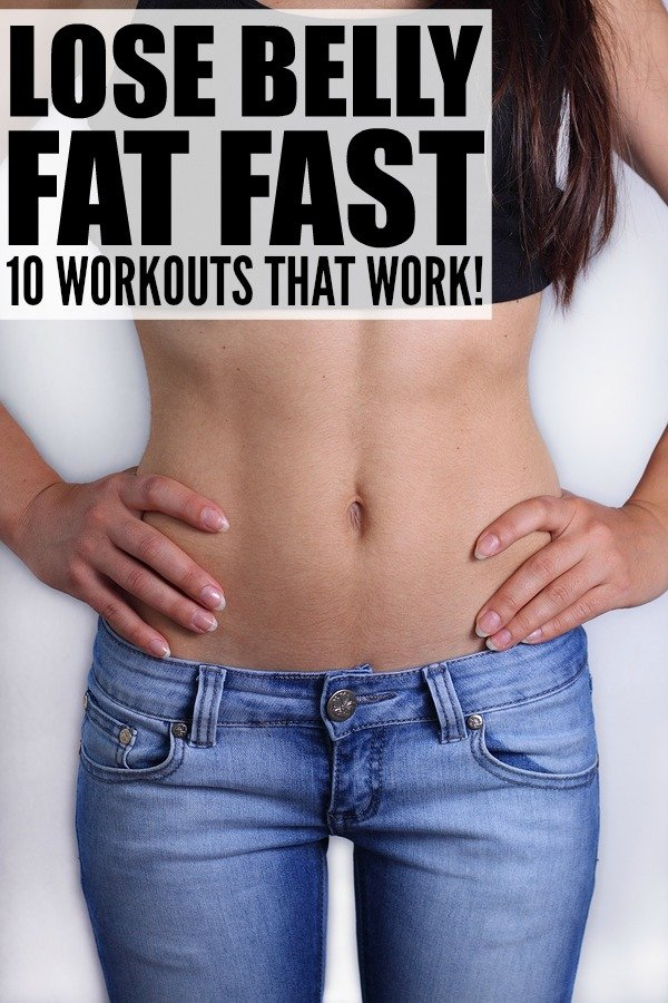 10 at-home workouts to teach you how to lose belly fat fast