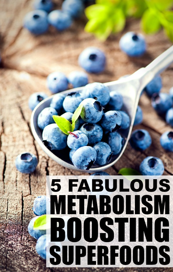 Lose weight while you eat? I know, it sounds too good to be true, but there are a group of super foods that work to rev your metabolism while you munch away. Not only do these foods burn fat, they're also incredibly good for your body. From breakfast to dinner, and snacks in between, check out 6 of our favorite metabolism boosting foods!