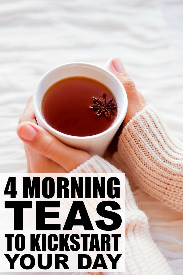 Whether you're looking for a metabolism booster for weight loss, a detox drink to flush out toxins, or just need a good way to relieve stress, this collection of amazing morning teas are the perfect way to jump-start your day!