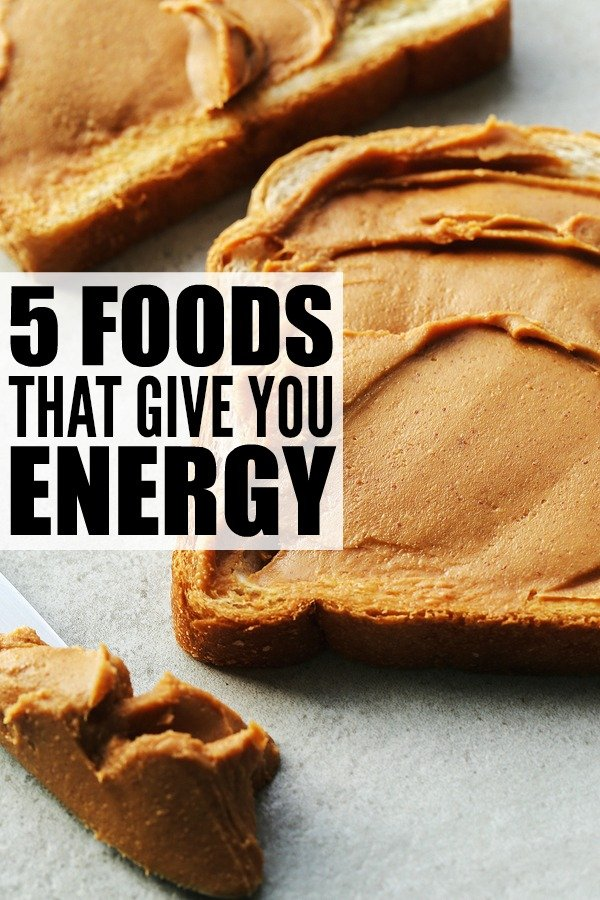 When you're feeling tired and sluggish and need a pick-me-up, there are healthy and tasty alternatives that will give you sustained energy rather than the jolt and crash that comes with a caffeine. Energy comes in the form of protein, fibre and complex carbs, and whether you need a boost before a workout, or need to stay alert through back-to-back meetings, these foods that give you energy are for you! Spoiler alert: you're going to LOVE suggestion 5!