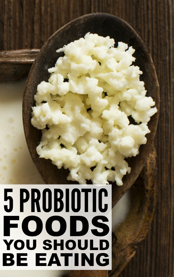 Probiotics are living microorganisms that reside in certain foods, including yogurt, miso and pickled veggies. They mimic 'good bacteria' that naturally occur in your digestive system, and help with everything from indigestion and irritable bowl syndrome to arthritis and cancer, while also boosting your immune system so you're healthier all around. Check out 5 delicious probiotic foods you should be eating RIGHT NOW!