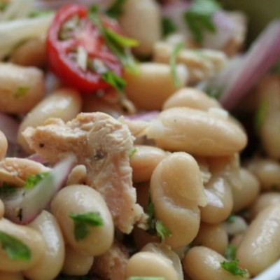 Tuna Fagioli ~ Bean Salad