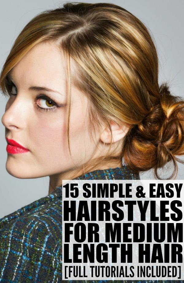 Admirable 15 Hairstyles For Medium Length Hair Hairstyles For Women Draintrainus