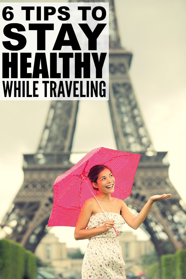 Now that winter has taken hold of us, chances are you're looking for a winter getaway so you can soak up some sun, and with cold and flu season in full swing, staying healthy is paramount to ensure you can fully appreciate the chance for some R&R. Check out 6 of our best tips to stay healthy while traveling and don't forget to bring the warm weather home with you!