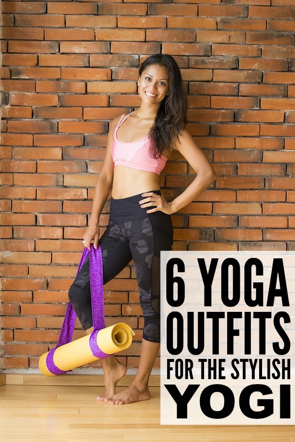 Yoga is meant to be relaxing; to relieve stress and offer a blissful space for you to check in with and work on yourself, so why not look extra chic doing so? Whether you're sweating it out in a hot yoga class, or enjoying an at-home yoga workout, these 6 amazing yoga outfits are perfect for the stylish yogi.