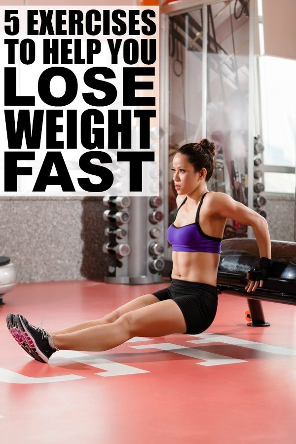 5 Exercises To Lose Weight Fast