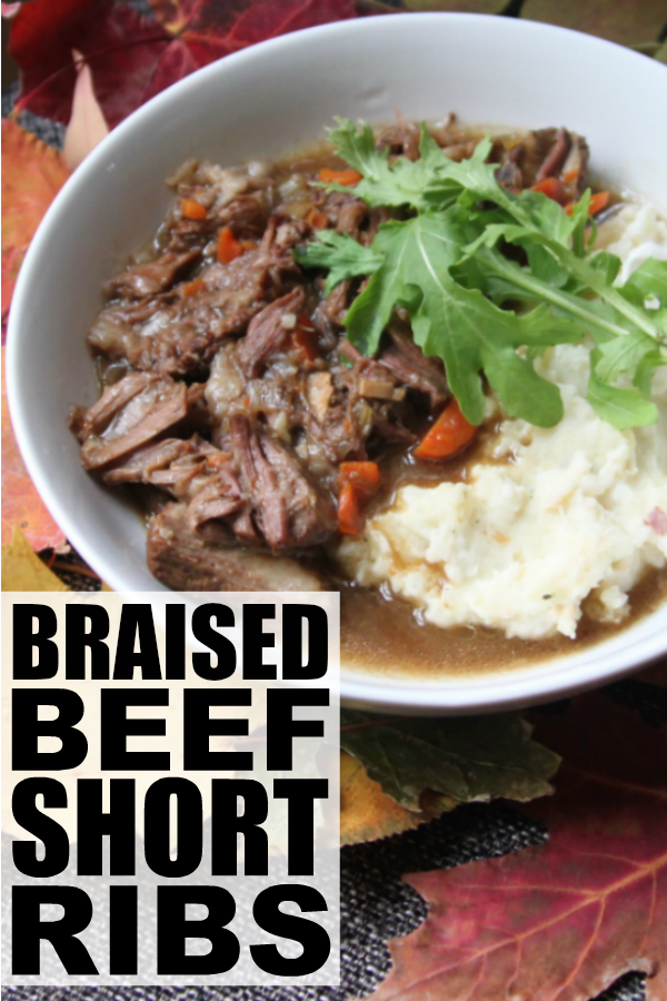 ... braised beef short rib recipe is to die for. Seriously. It makes the