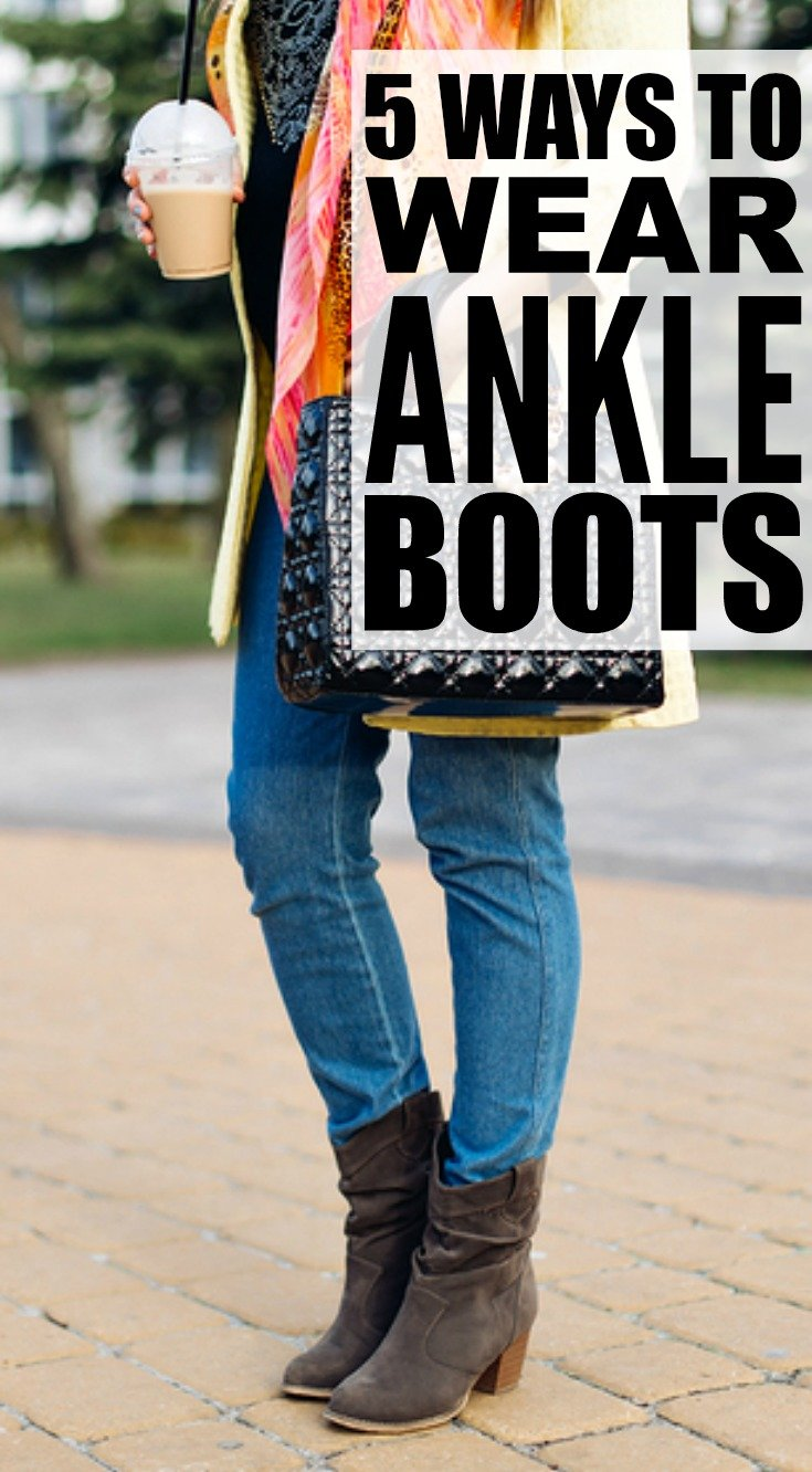 Fashion 101: 5 Tips to Teach You How to Wear Ankle Boots