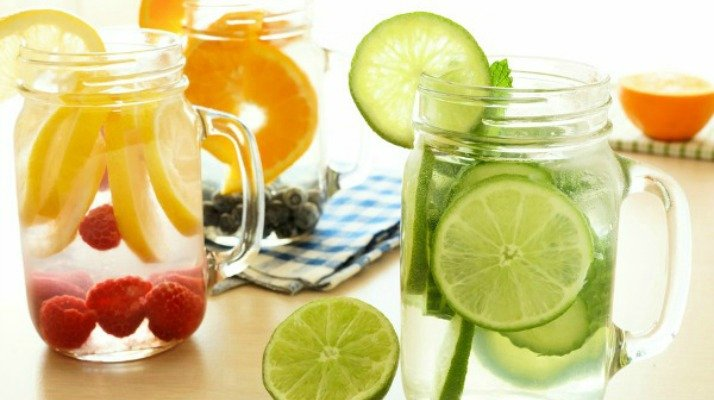 Detox water is a great way to lose weight and get that flat belly you've always lusted after. We've rounded up 15 great detox water recipes, and while these aren't meant to replace your workouts, certain ingredients like apple cider vinegar and lemon make them great for fat burning and for clear skin. H2O never looked (or tasted!) so good!