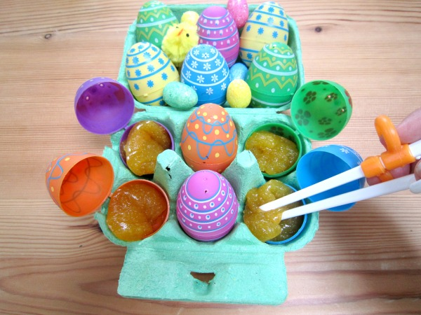 If you're looking for fun Easter activities for kids, this borax-free slime recipe is a must-try! It takes next to no time to make, provides endless hours of sensory fun, and is the perfect sensory play activity for curious little ones.