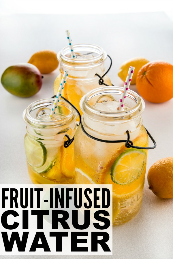 Bored of plain flat water? Try adding some fruit! The mangoes and citrus in this fruit-infused water recipe will rev your metabolism, and they're also known to help naturally smooth and tighten skin! Drink as much as you like — this delicious Skin-Firming Citrus Boost Water will help you in your goal to drink a gallon of water a day!